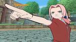 Sakura pointing