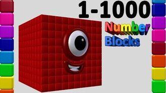 Numberblocks 1 to 1000