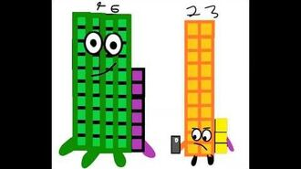 Fanmade NumberBlocks 41-49