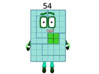 Numberblock 54