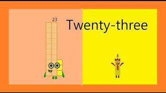 NumberBlocks season 7 episode 1 Twenty-three