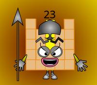 Numberblock 23