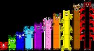 Numberblock Monsters