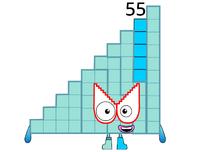 Numberblock 55
