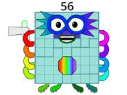 Numberblock 56 by Ryan