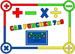 Car Puncher logo (B)