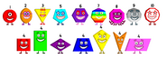 Numberblock Shapes