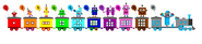 Numberblocks Express to 10 according to mine