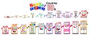Numberblocks Multiples by 10