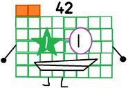 Numberblock 42 the Multi-personality Numberblock