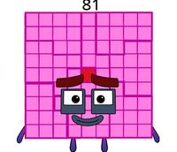 Numberblock 81
