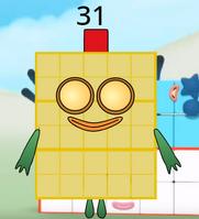 Numberblock 31 by 22rho2