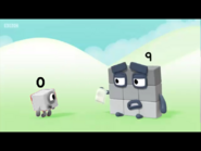 The smallest and biggest Numberblocks according to Numberjacks.