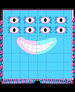 Numberblock Monster 64