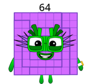 Numberblock 64