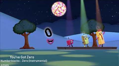Numberblocks - Zero Song (Instrumental) - You've Got Zero