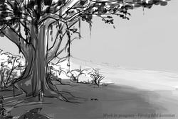 Tårarnas träd wip