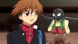 Karasu Tengu's useless warning