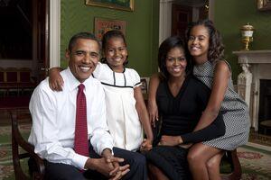 오바마가족