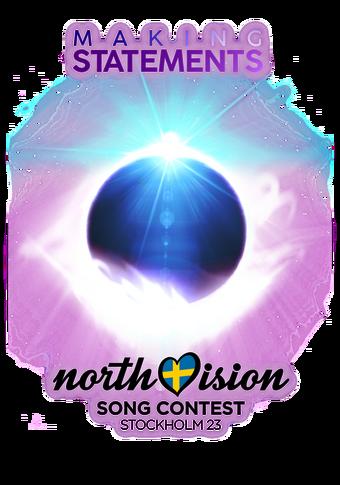 NVSC 23 Logo Transparent Black
