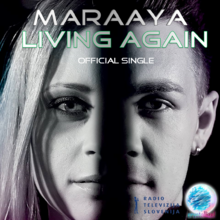 Maraaya Living again Cover