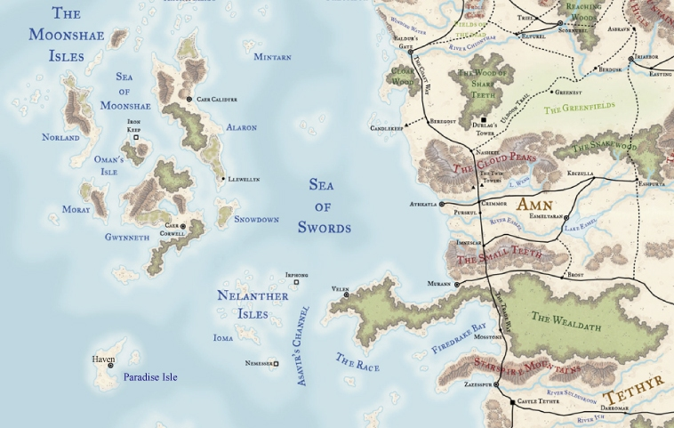 Haven nwn2wiki fandom powered by wikia havenmap map of haven gumiabroncs Choice Image