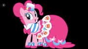 Pinkie Pie bridle girl