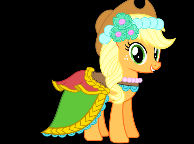 File:Applejack bridle girl.png