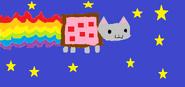 Nyan Cat By Eva