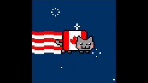 Canada Nyan Cat