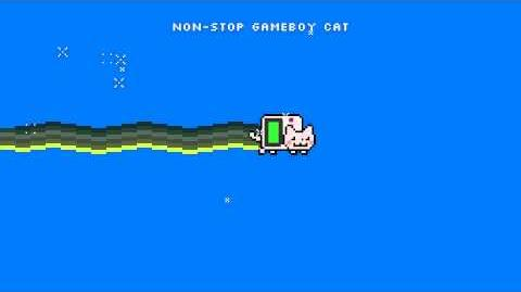 GAMEBOY CAT NyanCat Flavor