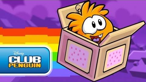Rainbow Puffle??? Official Club Penguin