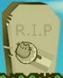 Donut Pusheen's grave