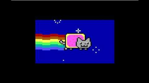 Your computer has been trashed by the MEMZ trojan Now enjoy the nyan cat!