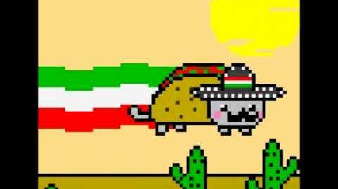 Mexican Nyan Cat