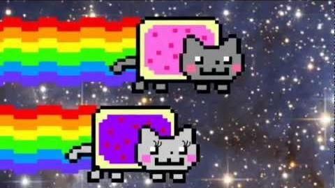 Nyan Cat falls in love ORIGINAL VIDEO