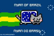 Brazilian Nyan Cat 3