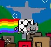 Brazil Nyan Cat