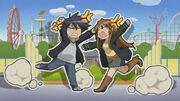Junpei and Kanako