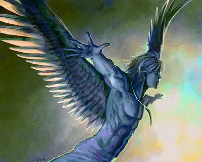 The Hawk King by keiiii