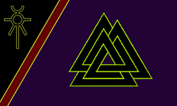 Flag obsidian
