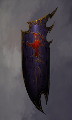 Bloody claw banner