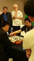 N Korea v China rnd 5 win China by half pt