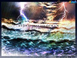 335 Storm over The Ocean