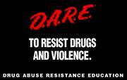 Drug Abuse Resistance Education DARE Logo