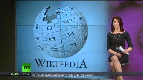 Abby Martin Censored on Wikipedia Editing Truth by Mob Rule
