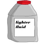 Lighter fluid body