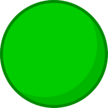 Green Rubber Ball