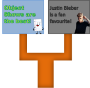 Object Shows vs Justin Bieber Signs bODY