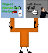 Object Shows vs Justin Bieber Signs